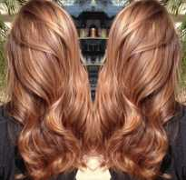 Карамельный цвет волос для брюнеток
