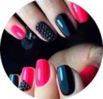 Дизайн ногтей с розовым гель лаком