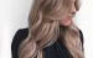 Холодные оттенки русого цвета волос фото