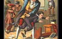Муж воспитывает жену ремнем