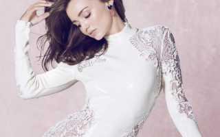 Модели кружевных платьев фото