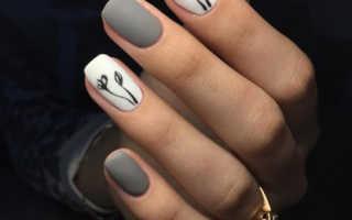 Дизайн ногтей нежных цветов