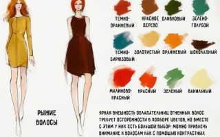 Коричнево рыжий цвет волос