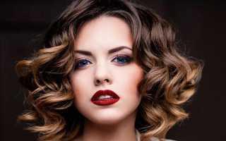 Укладка на короткие волосы с челкой фото