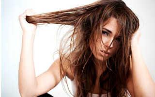 Выпадают волосы после мытья