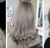 Пепельный цвет на темно русые волосы