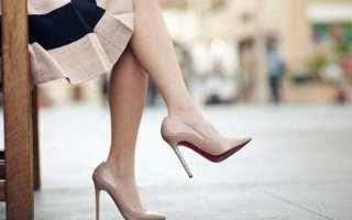 Показ мод обувь