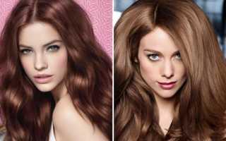 Коньяк цвет волос