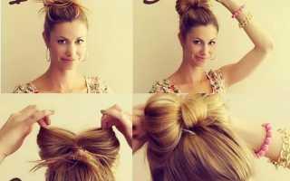 Какую прическу сделать на средние волосы