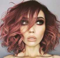 Каштаново рыжие волосы