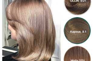 Фото русого цвета волос