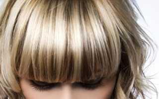 Обратное мелирование на светлые волосы фото