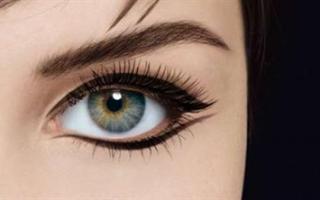 Двойная стрелка на глазах как рисовать