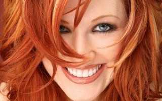 Огненные волосы фото