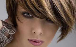 Мелирование на крашеные волосы фото