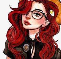 Какой цвет подходит к рыжим волосам