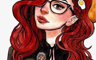 Какой цвет подойдет к рыжим волосам