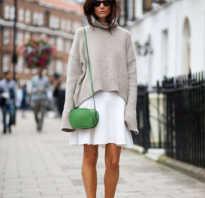 Платье миди со свитером