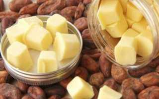 Масло какао для волос как использовать